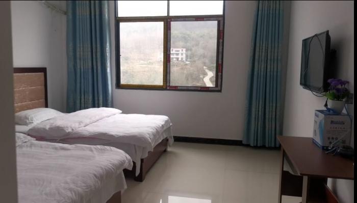 杨习伦改建的民宿房间(2020年1月4日摄)。新华社记者陈诺摄